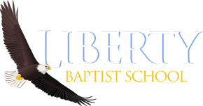 liberty baptist school logo